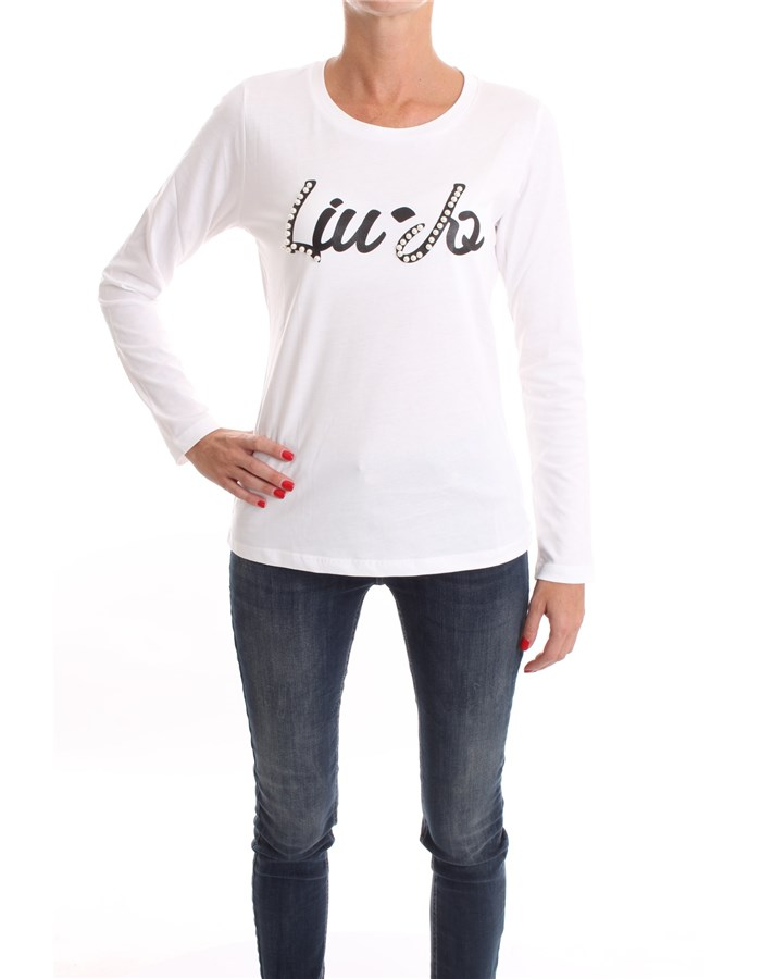 LIU JO T-shirt White pearls