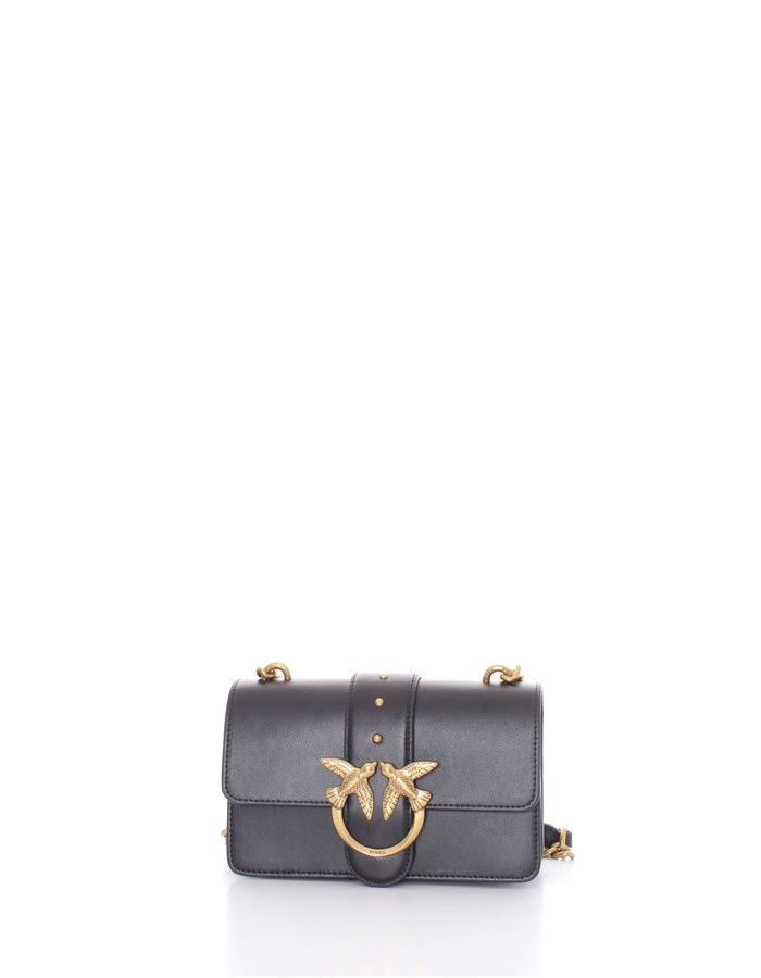 PINKO Shoulder Bags Black