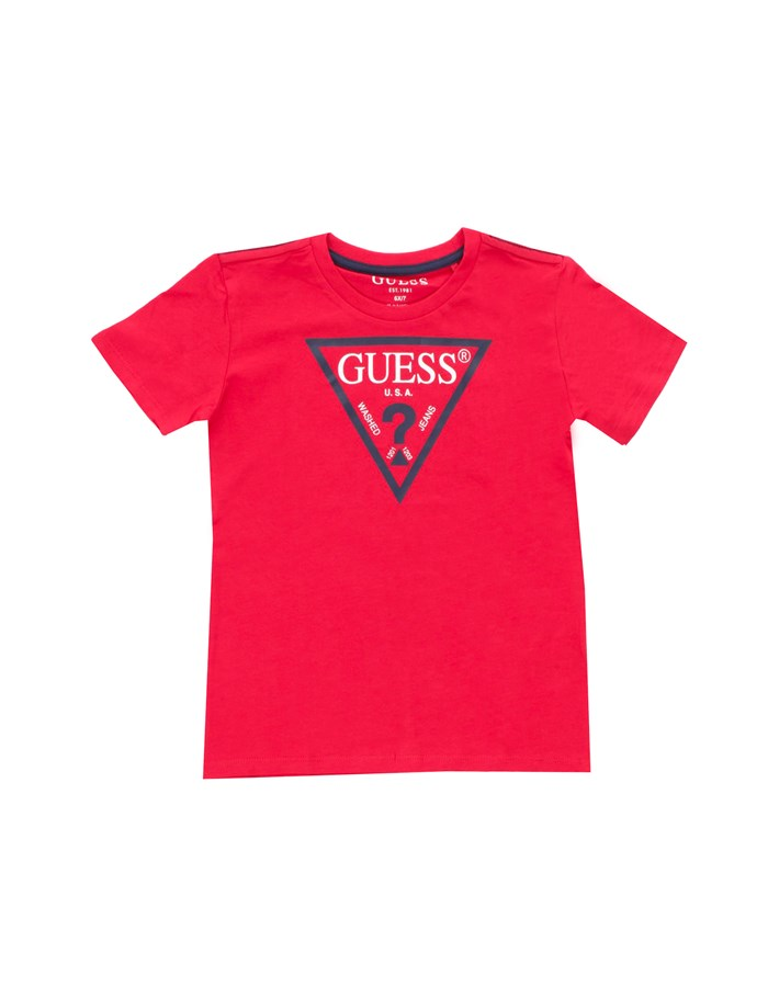 GUESS Short sleeve Red