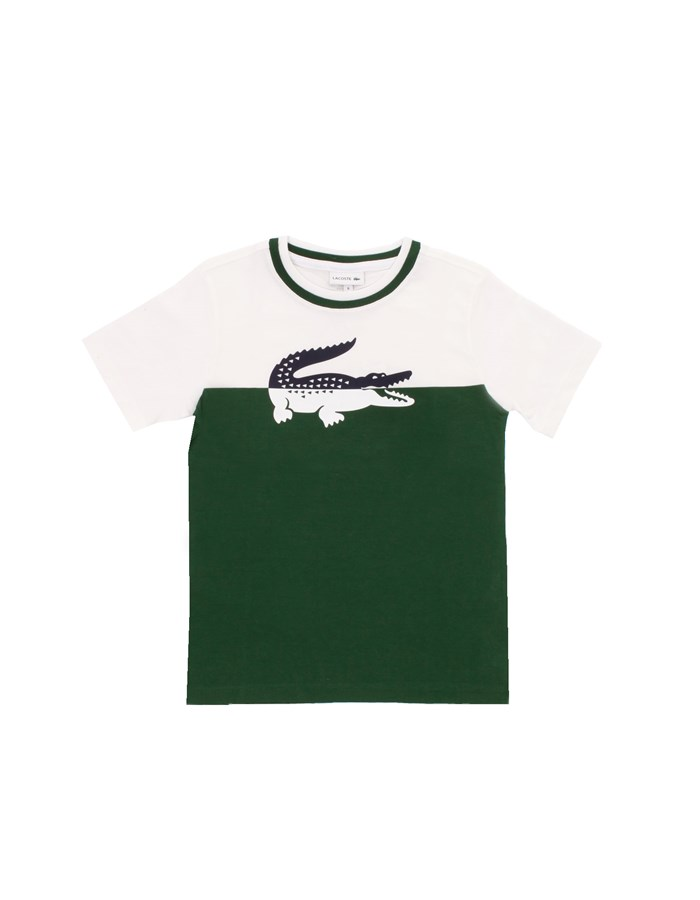 LACOSTE Short sleeve White