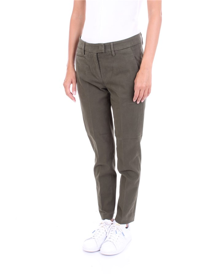 DONDUP Trousers Green
