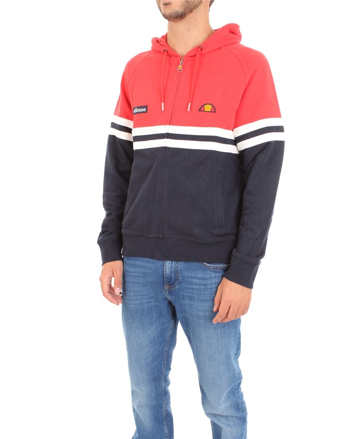 ELLESSE Sweatshirt Red Blue