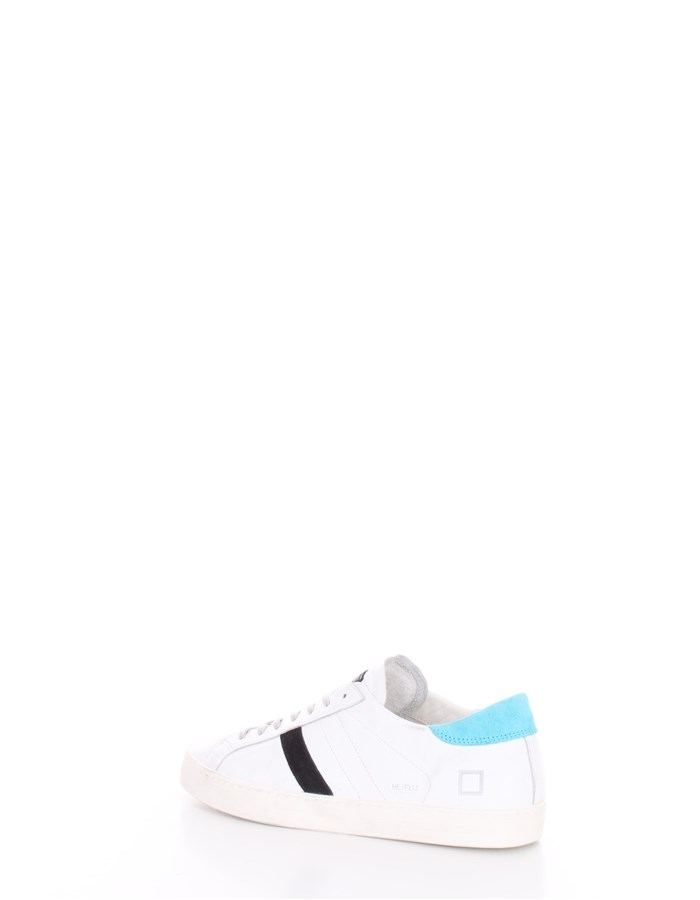 D.A.T.E.  low Turquoise white