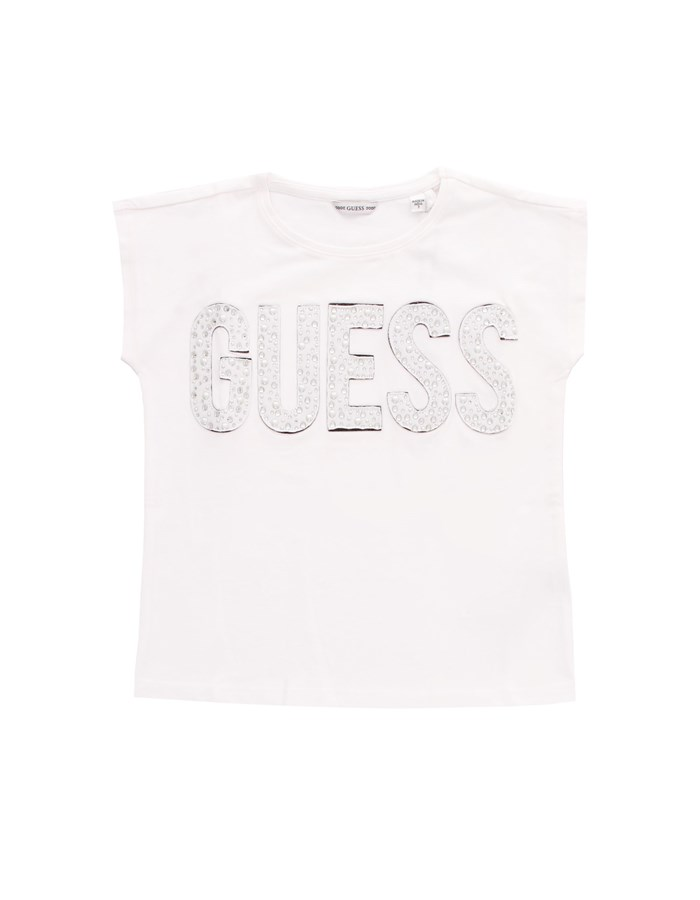 GUESS KIDS T-shirt Short sleeve J1RI34K6YW1 White