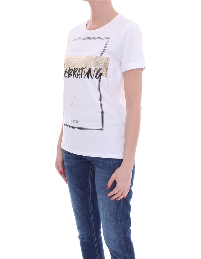 LIU JO T-shirt Short sleeve Women TA1149 J5003 2