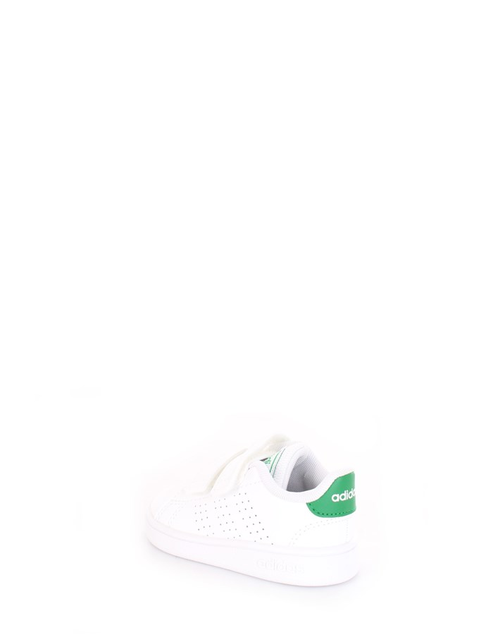ADIDAS Sneakers White green