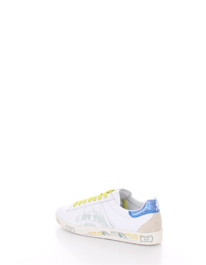 PREMIATA Trainers Royal white