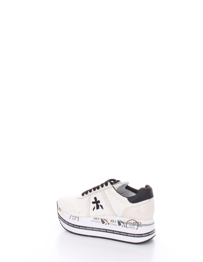 PREMIATA With wedge White black