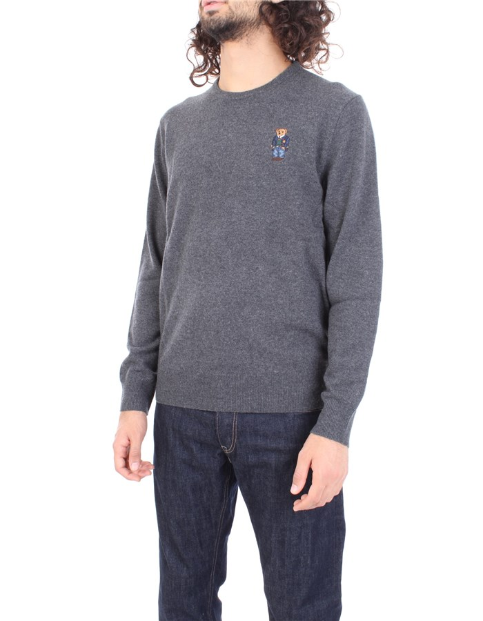 RALPH LAUREN Sweater Gray