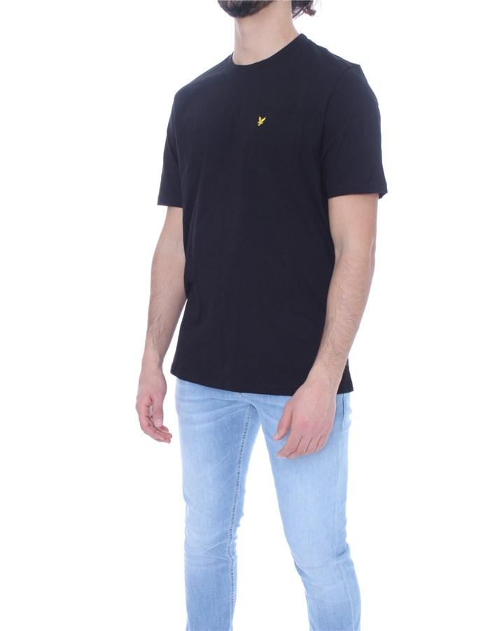 LYLE & SCOTT Vintage Short sleeve Black