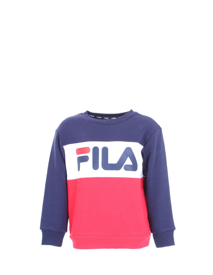 FILA Sweatshirt Red blue