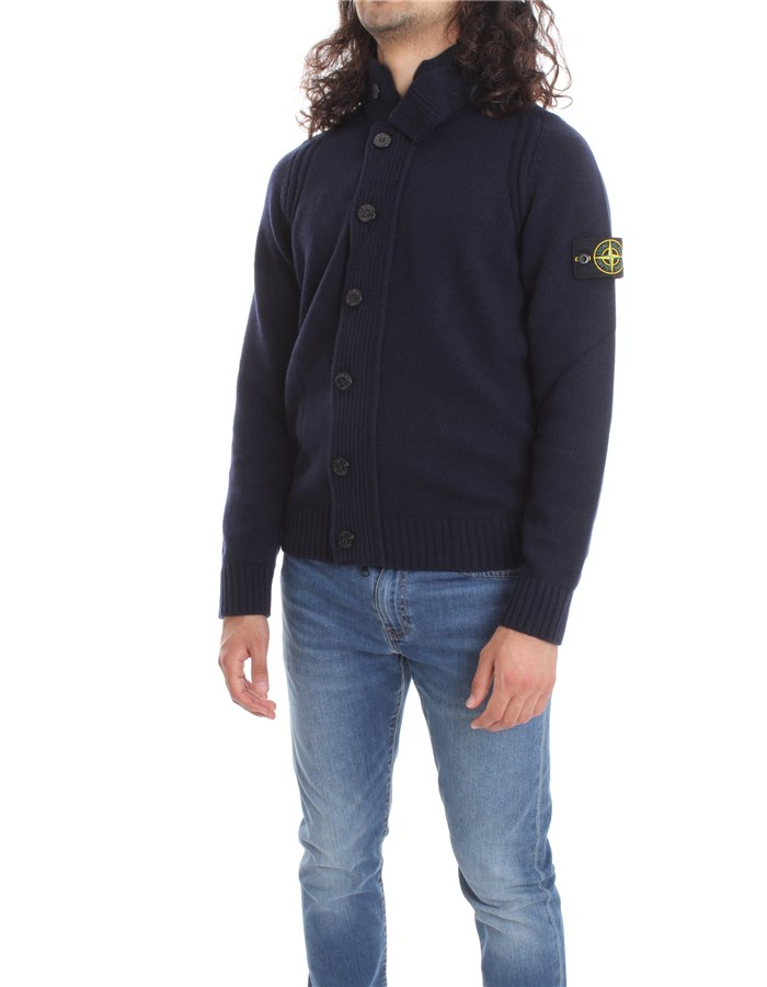 STONE ISLAND Sweater Blue