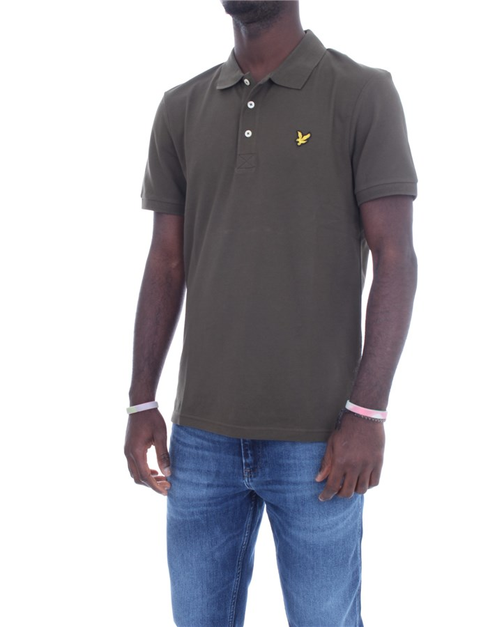 LYLE & SCOTT Vintage Short sleeves Military