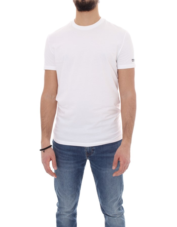 DSQUARED2 Short sleeve White