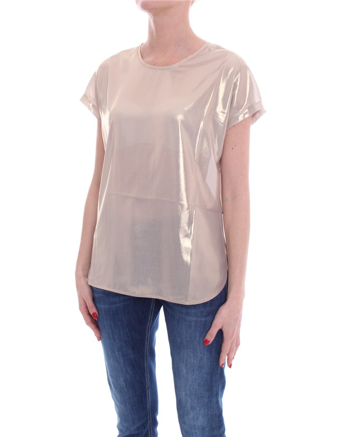PINKO Short sleeve Gold