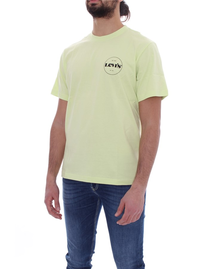 LEVI'S Short sleeve Lime core