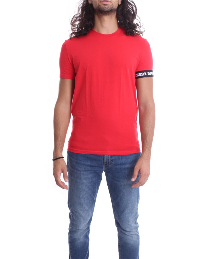 DSQUARED2 Short sleeve Red