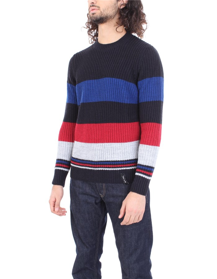 6DUEQUATTROPM Sweater Blue