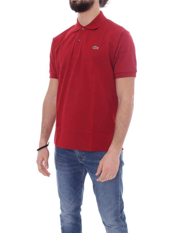 LACOSTE Short sleeve Red