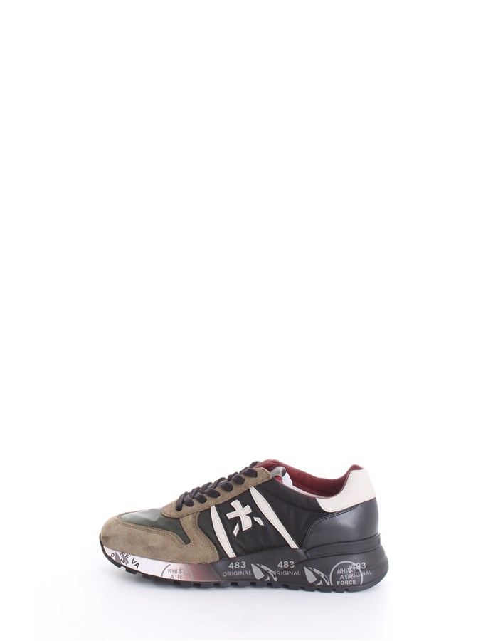 PREMIATA Trainers Green Black