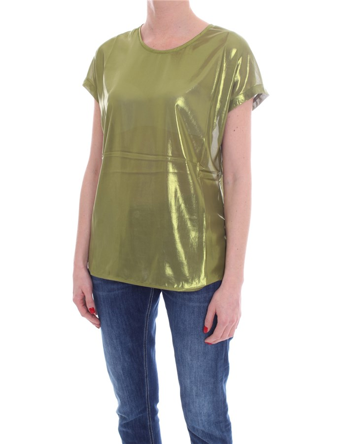 PINKO Short sleeve lime