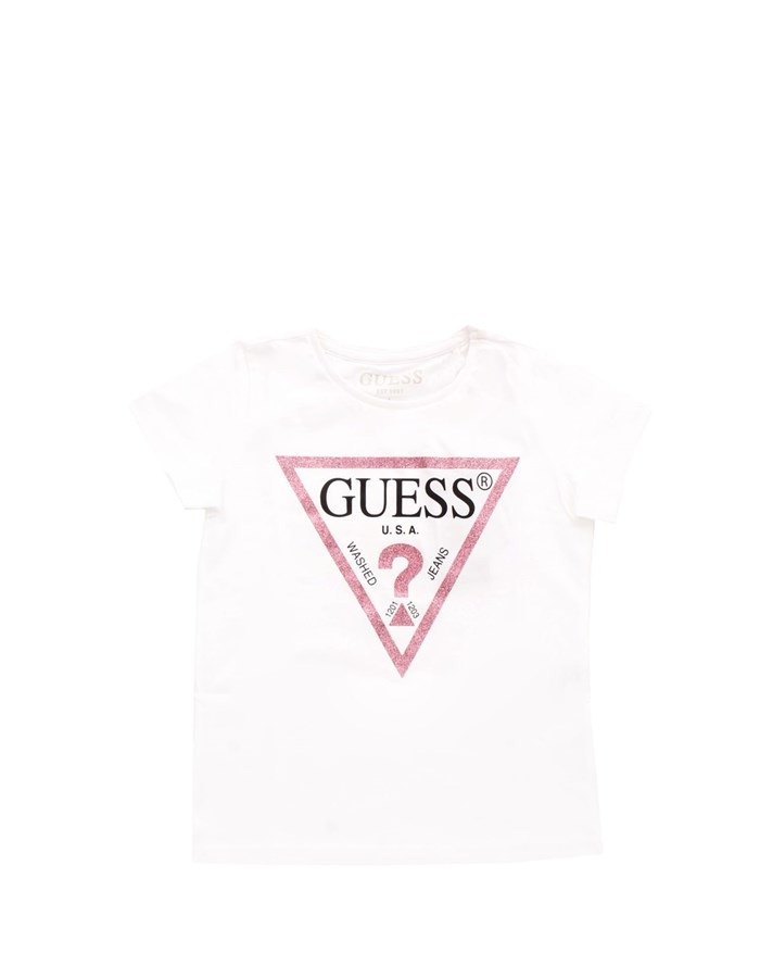 GUESS KIDS Short sleeve White