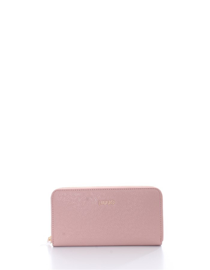 LIU JO Wallets With zip AA1176 E0087XL Cameo rose