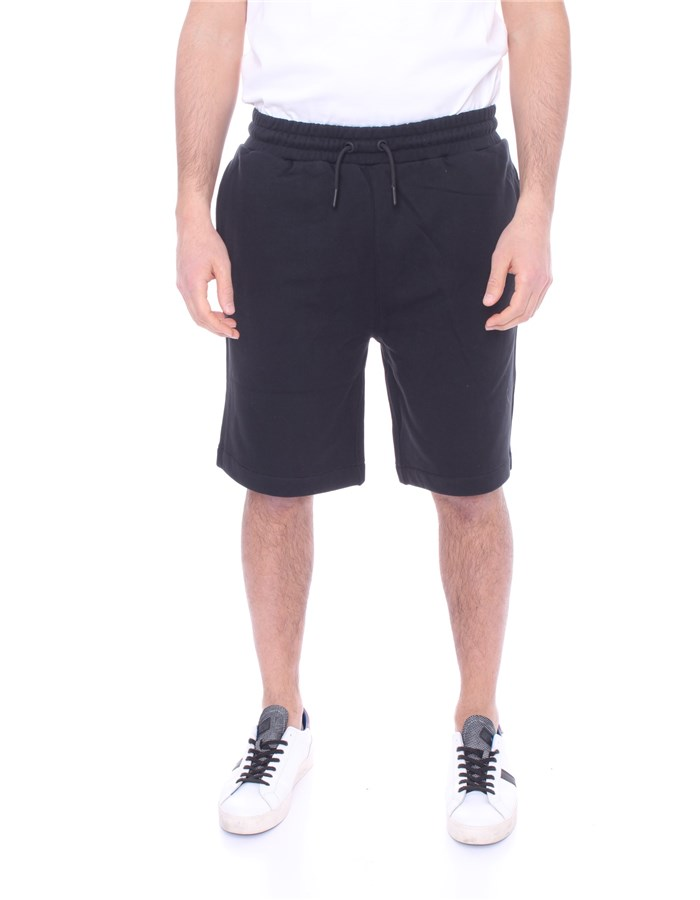 KWAY Shorts  To the knee K111P3W Black