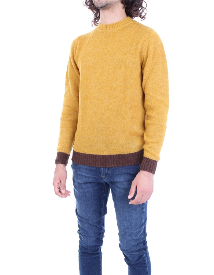 MANUEL RITZ Sweater Ocher