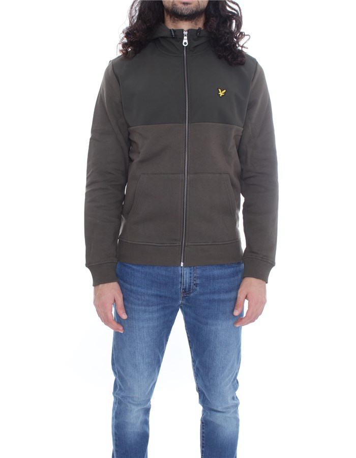 LYLE & SCOTT Vintage  With Zip Military
