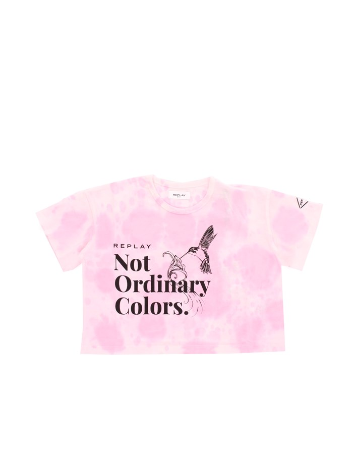 REPLAY KIDS T-shirt Short sleeve Girls SG7502 050 0