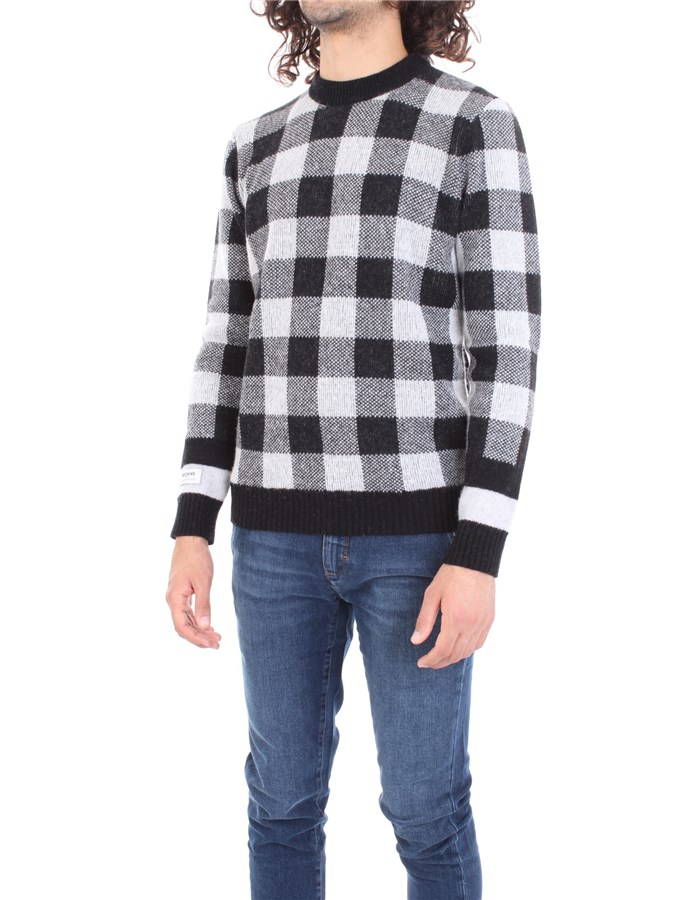 WOOLRICH Sweater Gray black