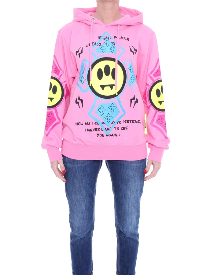 BARROW Hoodies Bubble rose