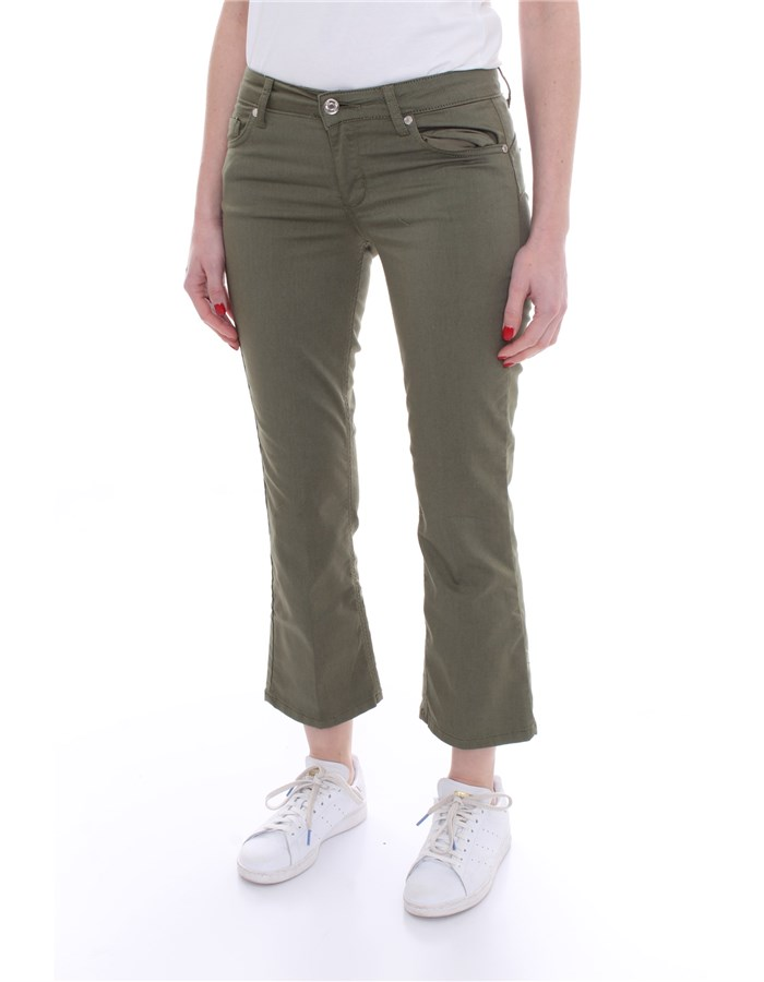 LIU JO Five pockets Green