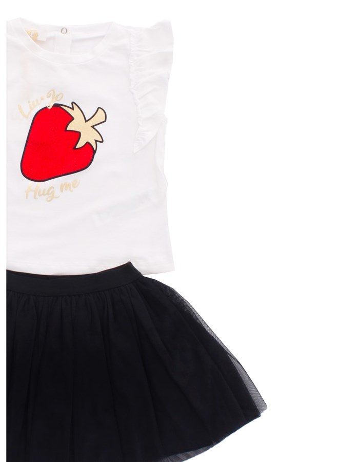 LIU JO Skirt + T-shirt White