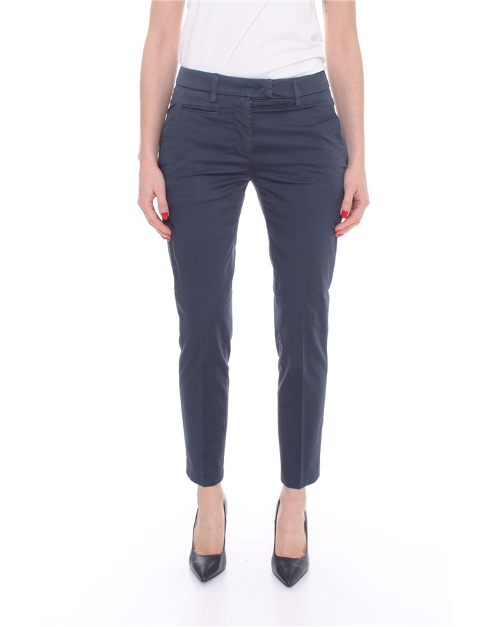 DONDUP Trousers Chino DP066 RSE036 Blue