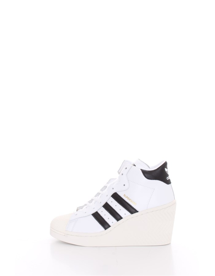 ADIDAS With wedge White black
