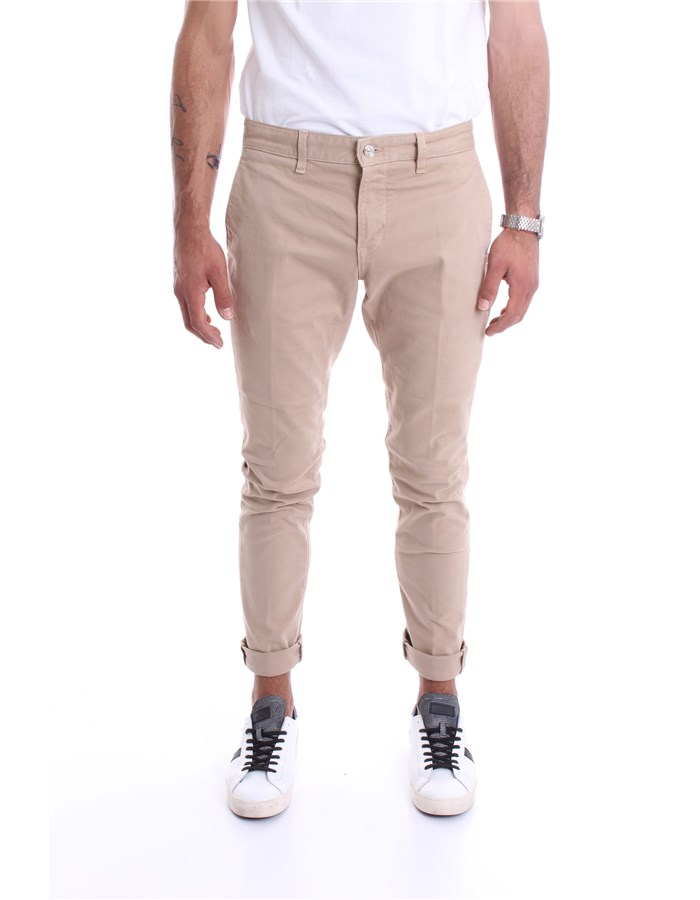 DONDUP  Pants UP555I GSE043 Sand