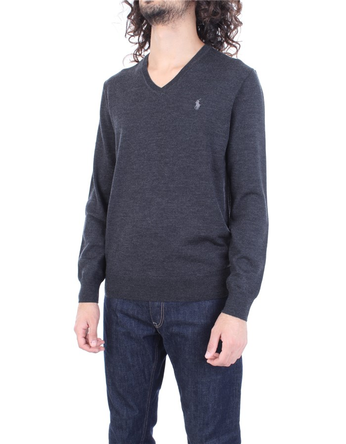RALPH LAUREN Sweater Dark gray