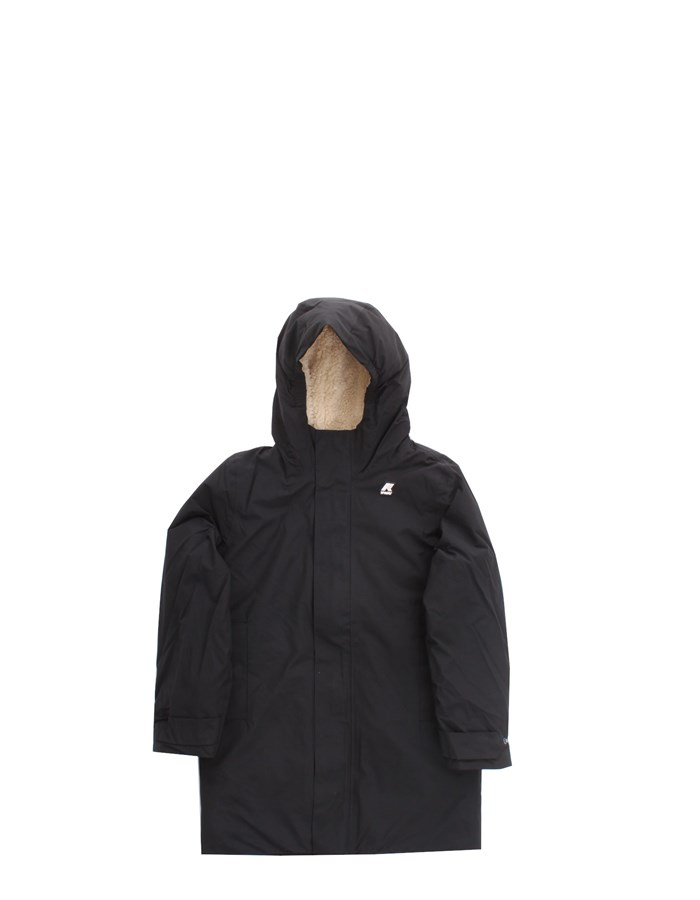 KWAY Jackets Long K1119UW Black as well