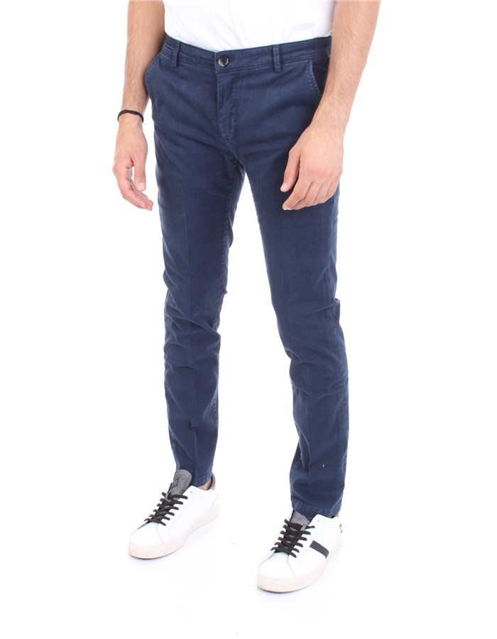 YAN SIMMONS Trousers Light blue