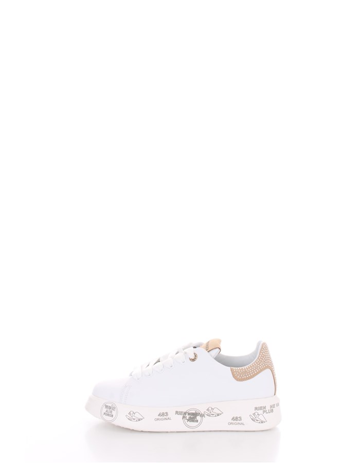PREMIATA  low White / Beige