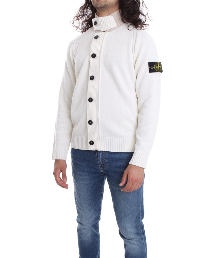 STONE ISLAND Sweater White