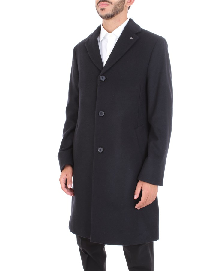 CALVIN KLEIN Coat Black
