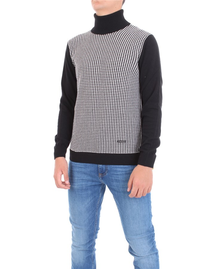 ALESSANDRO DELL'ACQUA Sweater Black White