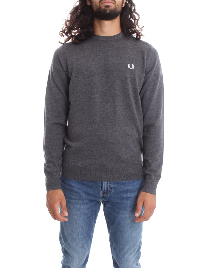 FRED PERRY Crewneck  Graphite