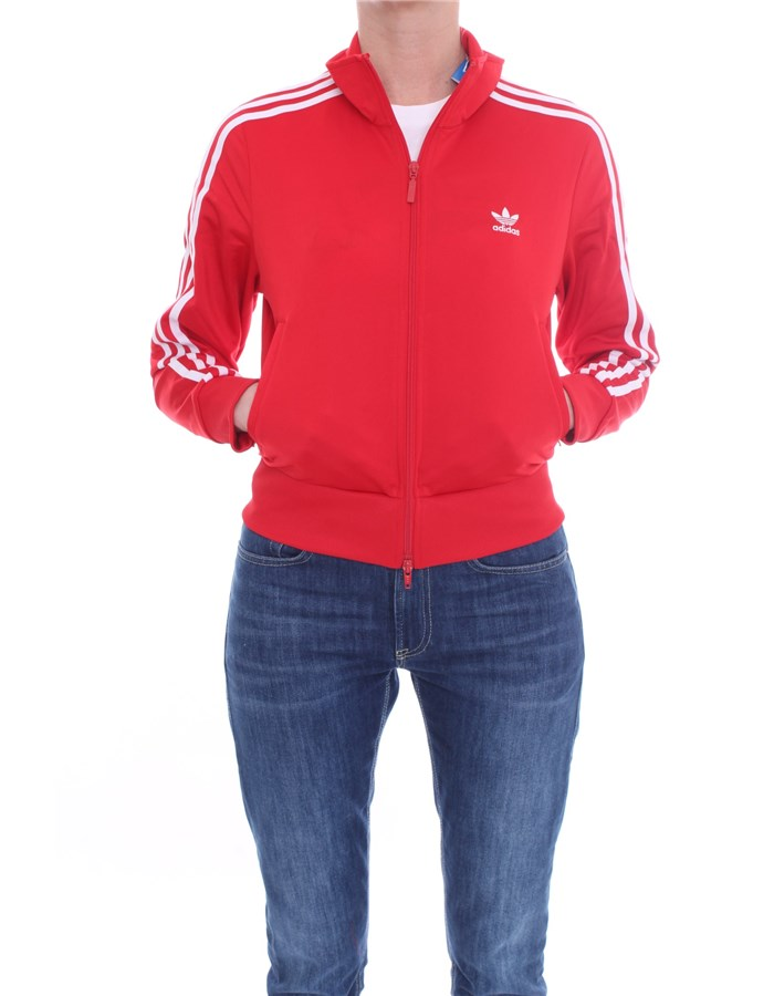 ADIDAS  With Zip Scarlet