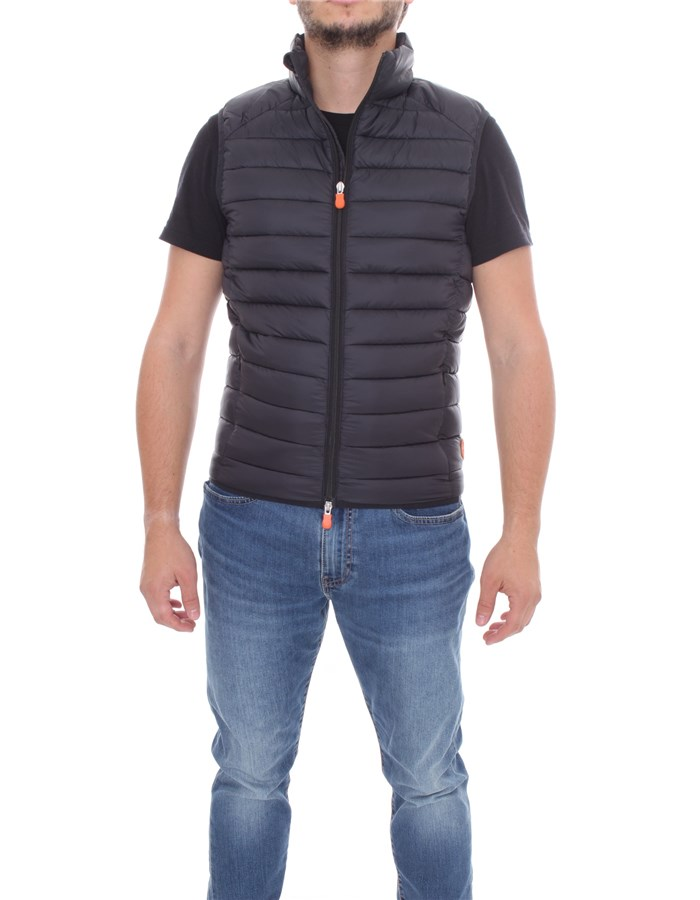 SAVE THE DUCK vest Black