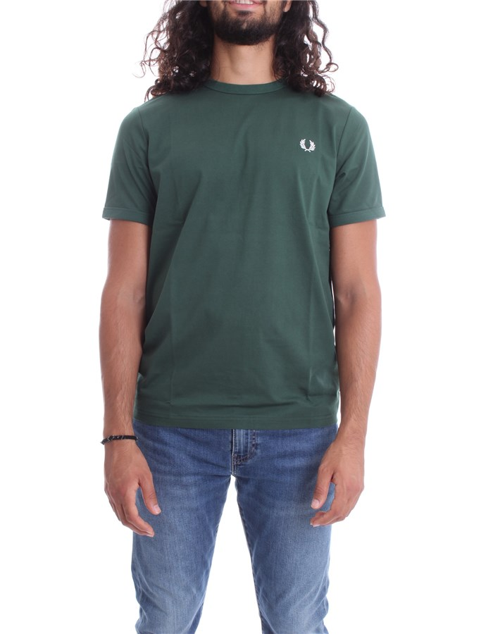 FRED PERRY Short sleeve Green