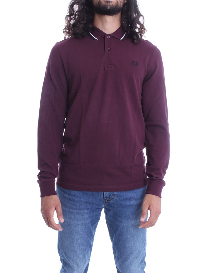 FRED PERRY Sweater Mahogany